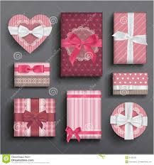 boxes with bows girly boxes and bows stock illustration image of ribbon 31682935