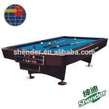 Table Nine Shender Cheap Crown Billiard Pool Table Nine Ball Table Buy