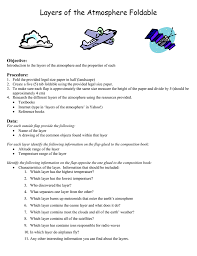 layers of the atmosphere worksheet for kids free worksheets