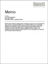 office memo example exol gbabogados co