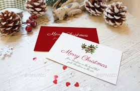 7 best christmas card mockup psd templates designerslib com