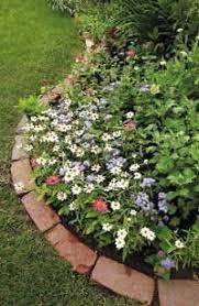 how to install brick edging gardens garden edging and bricks