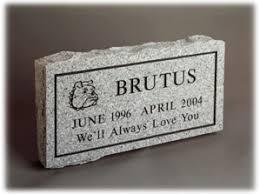 granite grave markers pet grave markers