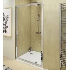 700mm Shower Door Cali Seis Pivot Shower Door Pvd70 700mm Chrome Clear