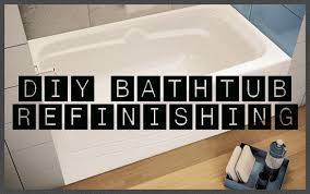 How To Repair A Cracked Bathtub How To Restore And Refinish A Tub Bathtub Refinishing