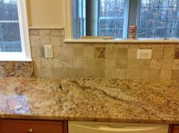 Kitchen Counter And Backsplash Ideas by Backsplash For Busy Granite Countertops Diana G U2013 Solarius