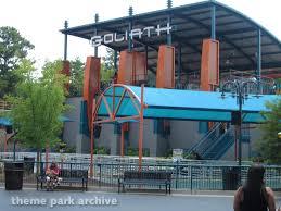 Goliath Six Flags Georgia Goliath At Six Flags Over Georgia Theme Park Archive