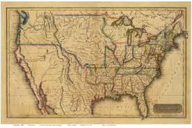 Geography Map Of Usa by Old Map Of Usa My Blog
