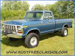Ford Ranger Truck Bed Camper - 1979 f250 4x4 long bed xlt 79 survivor ford camper special blue