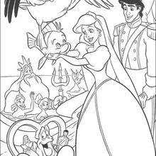 mermaid coloring pages 32 free disney printables
