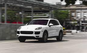 porsche suv 2015 interior 2015 porsche cayenne s e hybrid test u2013 review u2013 car and driver