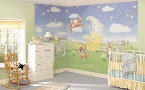 baby u0027s room nursery peel and stick wall murals peter pan theme