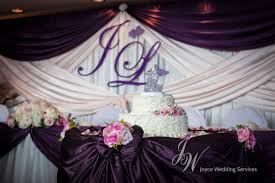 wedding backdrop initials backdrop joyce wedding services