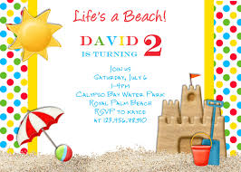 beach themed 50th birthday party invitations bedroom and living