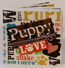 dog scrapbook album dog scrapbook album puppy scrapbook album by paperprettiesandmore