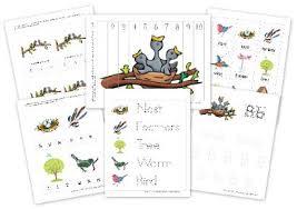 bird preschool pack