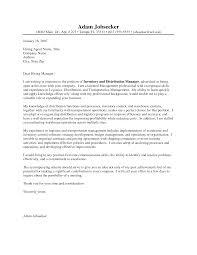 cover letter cover letter for supervisor cover letter examples for