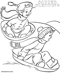sled coloring pages coloring pages to download and print