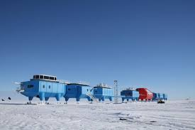 antarctic science station will empty for winter due to shelf