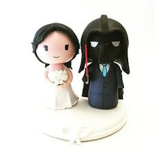 wars wedding cake topper cake topper studio custom wedding cake topper