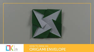 origami toys 101 how to make an origami envelope xii youtube