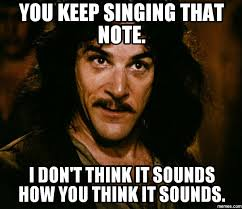 Meme Sounds - you keep singing that note i don t think it sounds how you think