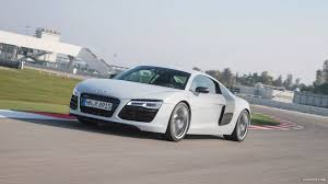 white audi r8 wallpaper 2013 audi r8 v8 coupe white front hd wallpaper 43
