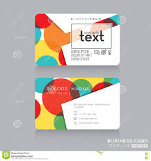 trendy business card template stock vector image 48304719