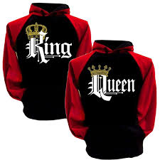 wish king queen hoodies