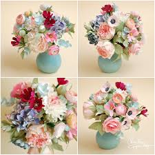 paper flower centerpieces paper flowers centerpiece christine paper design