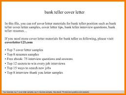 bank teller cover letter 2 k12albemarle org our website has a