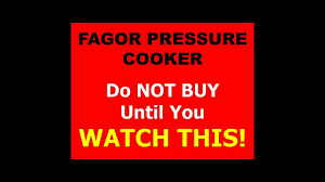 fagor pressure cooker fagor pressure cookers fagor duo