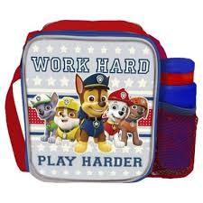 buy paw patrol combo lunch bag lunch bags u0026 boxes range