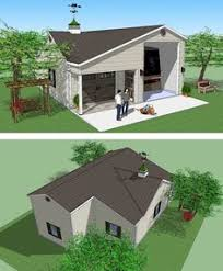 Plans Rv Garage Plans by Bradley Mighty Steel Rv Garage With Storage Living Quarters Office