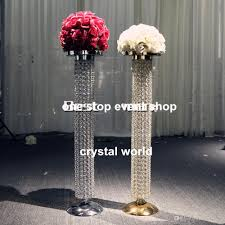 wedding decoration gold crystal chandelier table centerpieces whole party supplies wiggles party supplies from david137 753 77 dhgate com