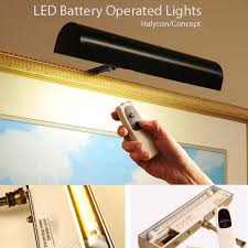 picture frame light battery operated cordless led picture frame lights 11 1 2 7 3 4 by concept