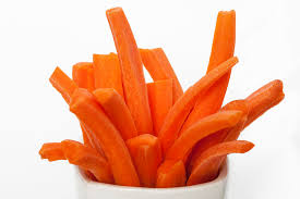 carrot sticks with peanut butter healthy snack