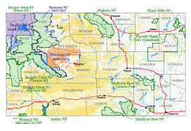 find maps buy and find wyoming maps forest service statewide index