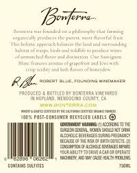 2016 bonterra vineyards sauvignon blanc 750ml at amazon u0027s wine store