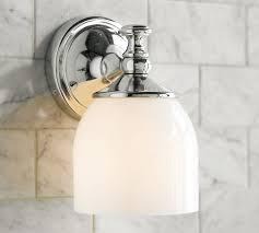 single sconce bathroom lighting fantastic single sconce bathroom lighting mercer single sconce