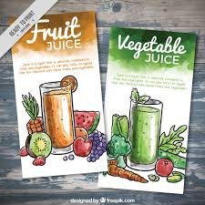 imagenes gratis de frutas y verduras folletos de zumos de frutas y verduras de acuarela descargar