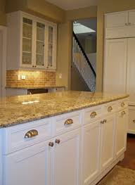 Kitchen Countertop Ideas With White Cabinets St Cecelia Granite Countertop White Kitchen Cabinets With