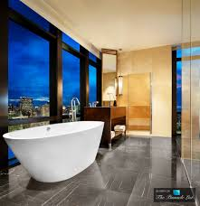 deluxe marble bathrooms ideas at modern house luxurious master