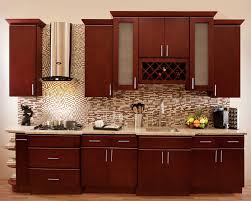 kitchen paint colors with cherry cabinets black metal microwave