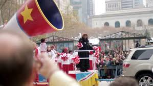 new york nov 26 macy s thanksgiving day parade with boombox on