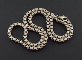 tiffany silver chains necklace images 36 9g solid silver tiffany co thick box chain necklace 17 75 jpg