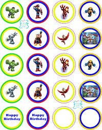 15 super heros images birthday party ideas