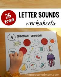 26 free beginning sounds worksheets letter sound activities