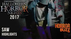 saw haunted house at halloween horror nights universal orlando