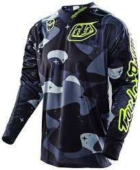 new jersey motocross troy lee designs gp electro jersey blau motocross jerseys